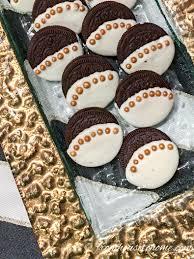 where can i buy white chocolate covered oreos gold trimmed white chocolate covered oreos