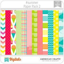 american crafts paper packs ac digitals
