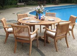 Grade A Teak Patio Furniture by 7 Pc Outdoor Teak Patio Table And Dining Set That Would Go Perfect