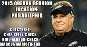 Nfl Meme - oregon reunion nfl meme chip kelly kiko alonso marcus mariota