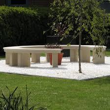 stone garden bench shapes inspiring home ideas