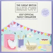 Wall Organiser Great British Bake Off Official 2017 Family Organiser Family
