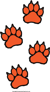 tiger paw print designs jpg hanslodge cliparts