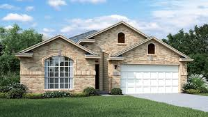 texas ranch homes hanover floor plan in creekside ranch texas series calatlantic