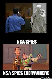 Nsa Meme - nsa is watching you by xchris00 meme center