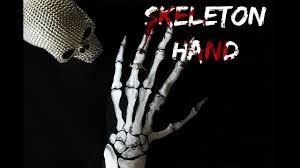 Halloween Skeleton Hand by Easy Skeleton Hand Halloween 2016 Body Painting Youtube