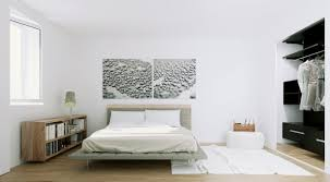 interior scandinavian home interior design for bedroom with white