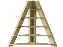 bookcase corner unit oak corner ladder shelf elements ladder