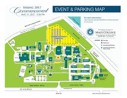 Maui Hawaii Map Commencement U2013 Student Life