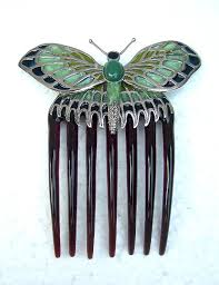 vintage hair combs hair comb titanic replica butterfly comb hair accessory free