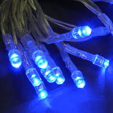 20 battery operated lights blue led string lights