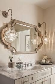 elegant mirrors bathroom elegant french country powder room i love the mirror and