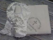 Christening Blanket Personalized Christening Blanket Ebay