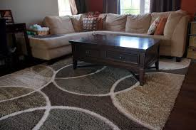 Brown And Gray Area Rug Circle Area Rugs Roselawnlutheran