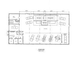 autoepair shop floor plans house plan automotive unique