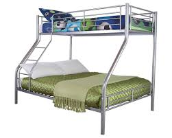 Steel Frame Bunk Beds by Gfw Ohio Triple Sleeper Bunk Bed Double Bed Base And Single On