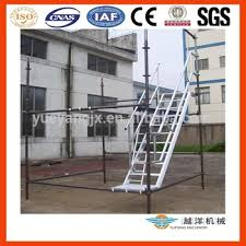 aluminium scaffold stairs with platform buy scaffold stairs