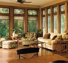 relaxing wooded retreat designer series casement windows