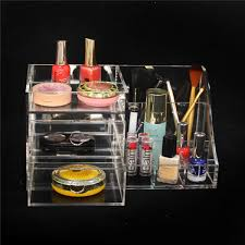 china wholesale acrylic cosmetic organizer jewelry display rack