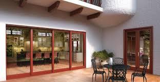 Milgard Patio Door Stacking Glass Wall Doors Wood Aluminum Milgard Windows Doors