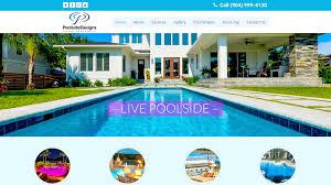 poolside designs website solutions portfolio poolside designs