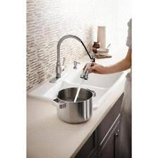 Kitchen Faucets Kohler by Kohler Worth R11921 Sd Vs Stainless Steel Kitchen Faucet With Pull
