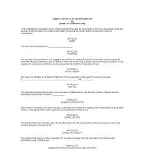 certificate of incorporation template free alabama domestic