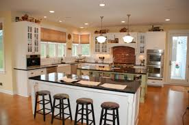 pictures of country kitchens with islands kitchen island decoration