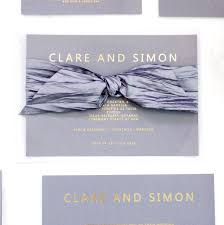 Gold Foil Wedding Invitations Grey And Gold Foil Bespoke Wedding Invitation By Made With Love