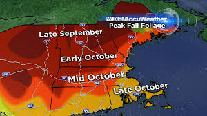 New York State Fall Foliage Map by The First Fall Foliage Update Of The Season Cbs Boston