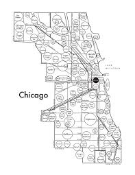 Chicago Map Art by A Collection Of Creative Cartographers U0027 Madcap Maps