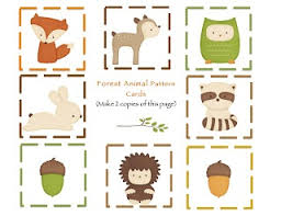 6 best images of free woodland printables woodland forest animal