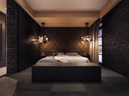 dark bedroom decorating ideas dark patterned pillows black