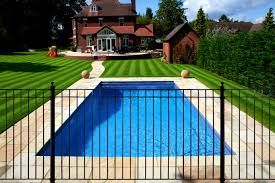 exteriors appealing safety pool fencing modern fence design