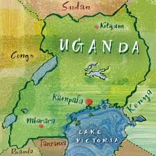Map Of Uganda Nigel Owen Illustrated Maps On Behance