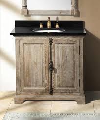 Single Bathroom Vanities Homethangs Com Has Introduced A Guide To Aged Wood Bathroom Vanities
