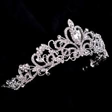wedding crowns aliexpress buy tiaras and crowns wedding crown hair jewelry