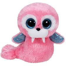ty beanie boos tusk pink walrus small 6