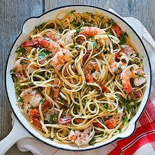 pasta recipes 16 shrimp pasta recipes rachael ray rachael ray every day
