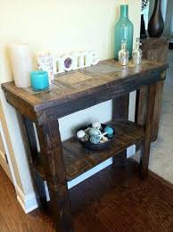 tables made out of pallets entryway table make out from rustic pallet pallets designs