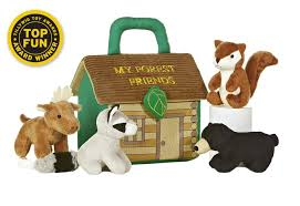 amazon com aurora my barnyard friends baby talk playset toys u0026 games