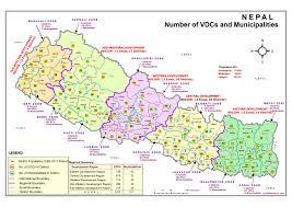 Nepal World Map Gis National Map Local Governance And Community Development