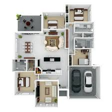 3d floor plans 10 awesome two bedroom apartment 3d floor plans