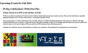 Floor Math by Pi Mu Epsilon Uh Math Club Events