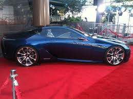 lexus lf lc red lf lc on the red carpet on display now in los angeles clublexus