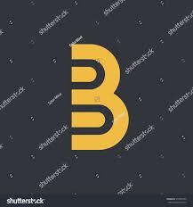 modern simple letter b logo stock vector 572037436 shutterstock