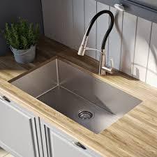 kraus 28 inch undermount sink kraus khu10028 28 inch undermount single bowl kitchen sink with 16