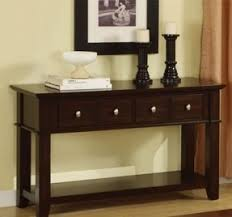Sofa Table With Drawers Sofa Table With Storage Drawers Foter