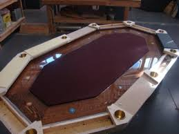 Custom Poker Tables How To Build Your Own Poker Table Chris Angled Ten Seater