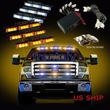 led lights for cars store 54 led car truck strobe emergency warning light for deck dash grill